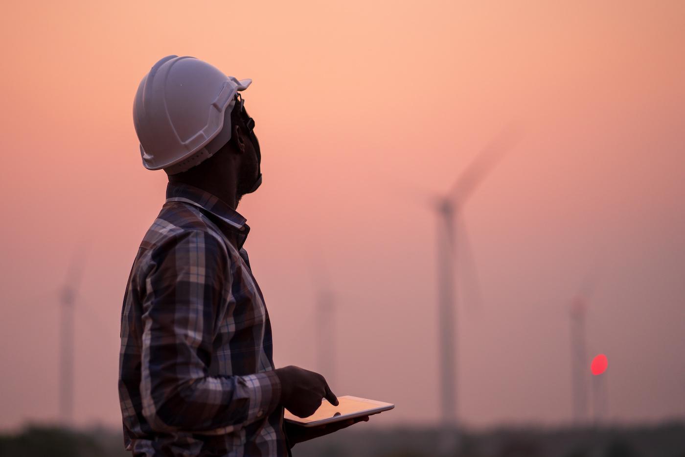 Stromversorgung Windenergie
